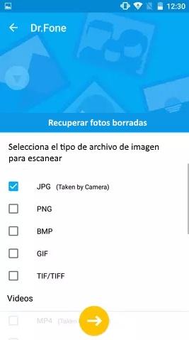 dr phone aplicacion android para recuperar fotos borradas