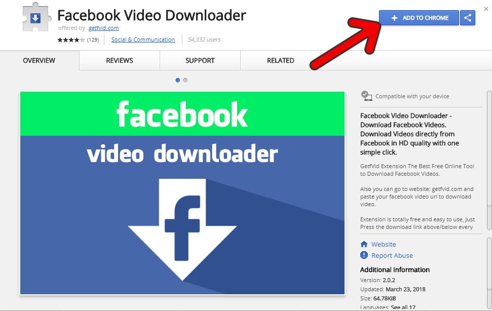 Descargar Videos de Facebook Online