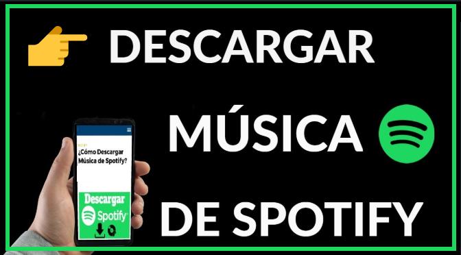 pasos para descargar música de spotify